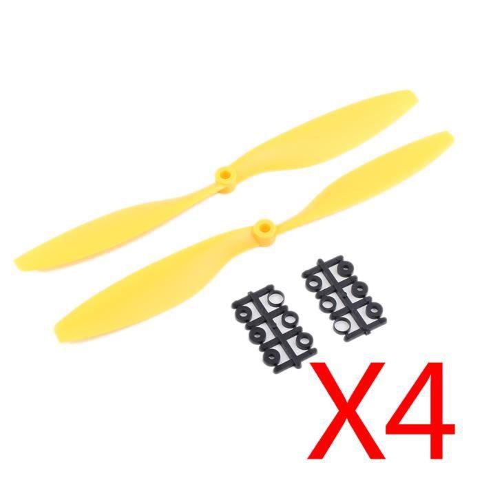 CW /& CCW 5 paire de ce type//Hélice 10x4,7 DROIT /& GAUCHE Noir