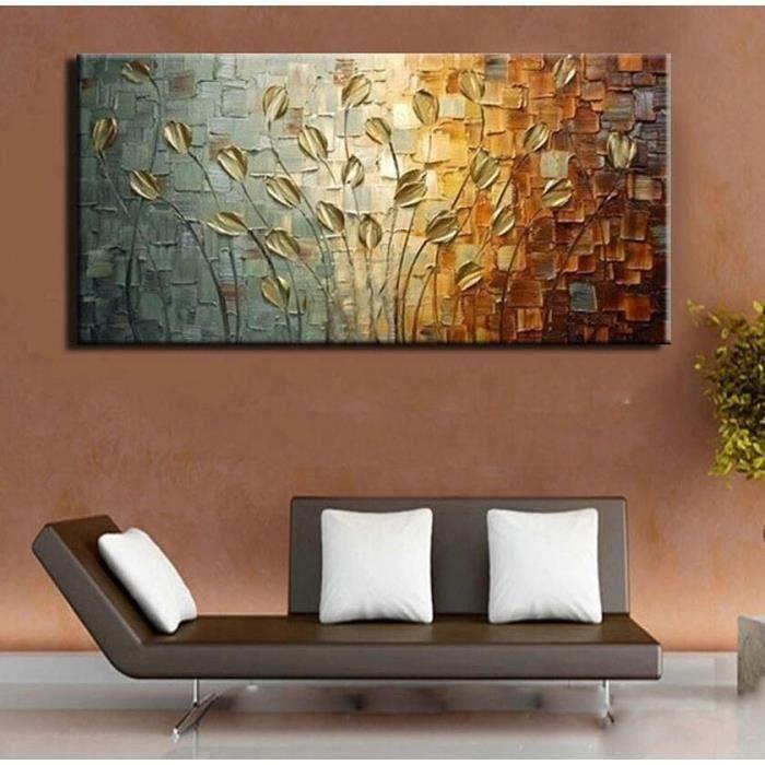 Tableaux sur toiles peinture a la main abstrait
