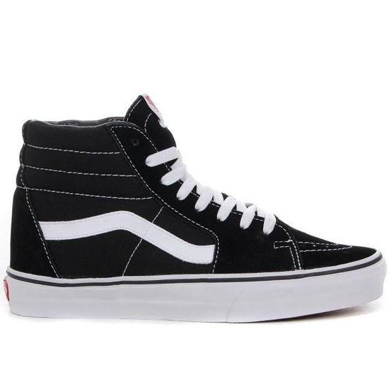 Chaussure montante Vans Sk8 Hi N... Noir - Cdiscount Chaussures