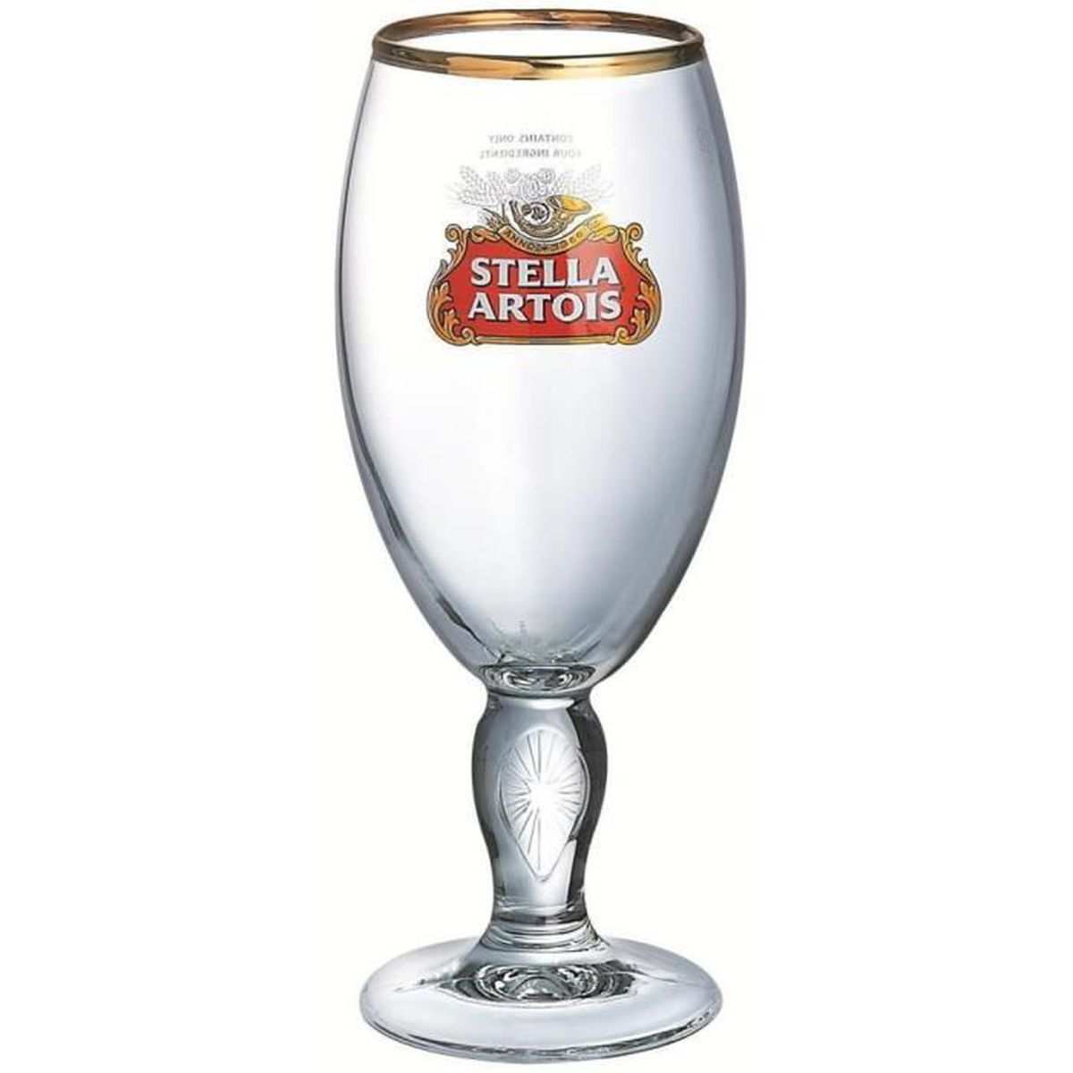 personnalis verre de bier barware ce 330ml stella. Black Bedroom Furniture Sets. Home Design Ideas