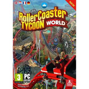 JEU PC Roller Coaster Tycoon World Jeu PC