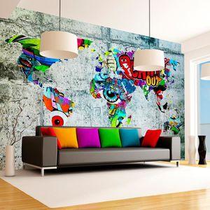 Chambre enfant Animaux Forêt Papier Peint Nappes Papier peint XXL Graffiti e-c-0052-a-a