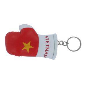 PORTE-CLÉS Porte cles  gant de boxe drapeau vietnam