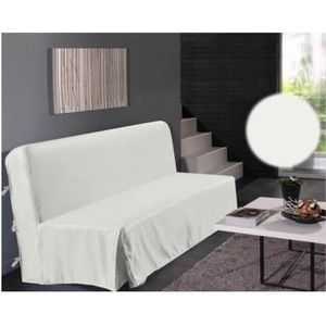housse clic clac blanc achat vente housse clic clac blanc pas cher cdiscount. Black Bedroom Furniture Sets. Home Design Ideas