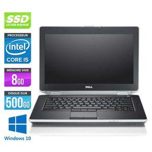 ORDINATEUR PORTABLE Dell E6420 - Core i5 - 8Go - 500Go SSD -Windows 10