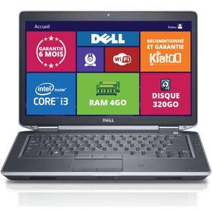 ORDINATEUR PORTABLE ordinateur portable DELL E5430 core I3 4go ram 320