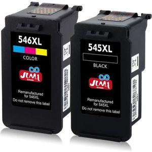CARTOUCHE IMPRIMANTE Pack Compatible Canon PG-545XL CL-546XL Cartouches