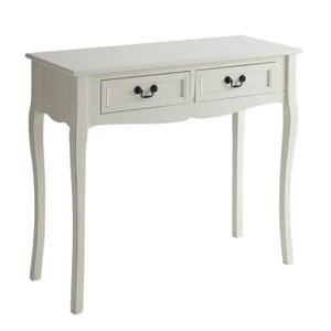 meuble console avec 2 tiroirs achat vente meuble. Black Bedroom Furniture Sets. Home Design Ideas