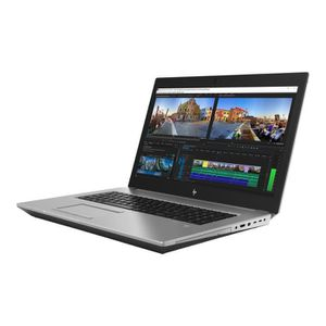Vente PC Portable HP ZBook 17 G5 Mobile Workstation Core i7 8750H - 2.2 GHz - Win 10 Pro 64 bits - 16 Go RAM - 256 Go SSD pas cher