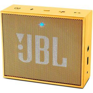 ENCEINTE NOMADE JBL GO Enceinte Bluetooth - Jaune