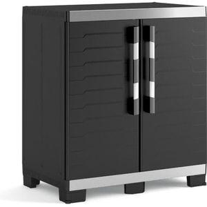 ETABLI - MEUBLE ATELIER KETER Armoire basse de rangement XL  - 2 portes -
