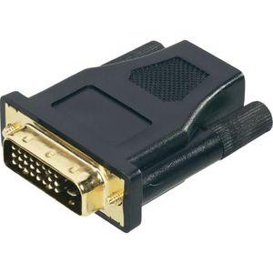 ADAPTATEUR AUDIO-VIDÉO  MHP ® DVI-D mâle vers HDMI adaptateur femelle D…