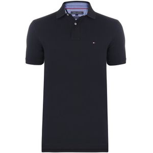 POLO TOMMY HILFIGER Polo Manches courtes - Homme - Noir