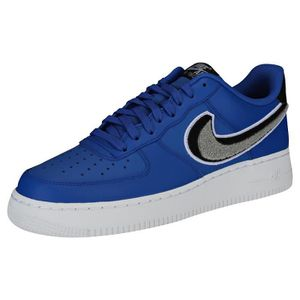 BASKET Nike Air Force 1 07 Lv8 Homme Baskets Royal Bleu N