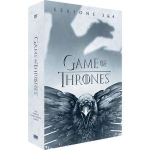DVD SÉRIE Coffret DVD GAME OF THRONES : Saison 3 / Saison 4