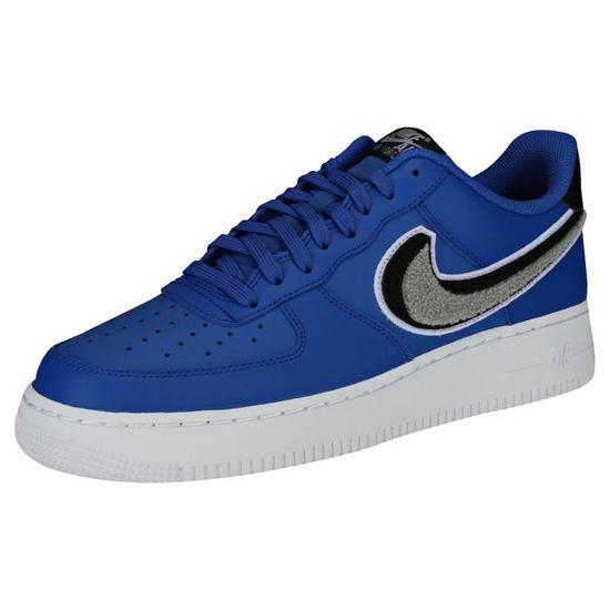 Nike Air Force 1 07 Lv8 Homme Baskets Royal Bleu Noir Royal bleu ...