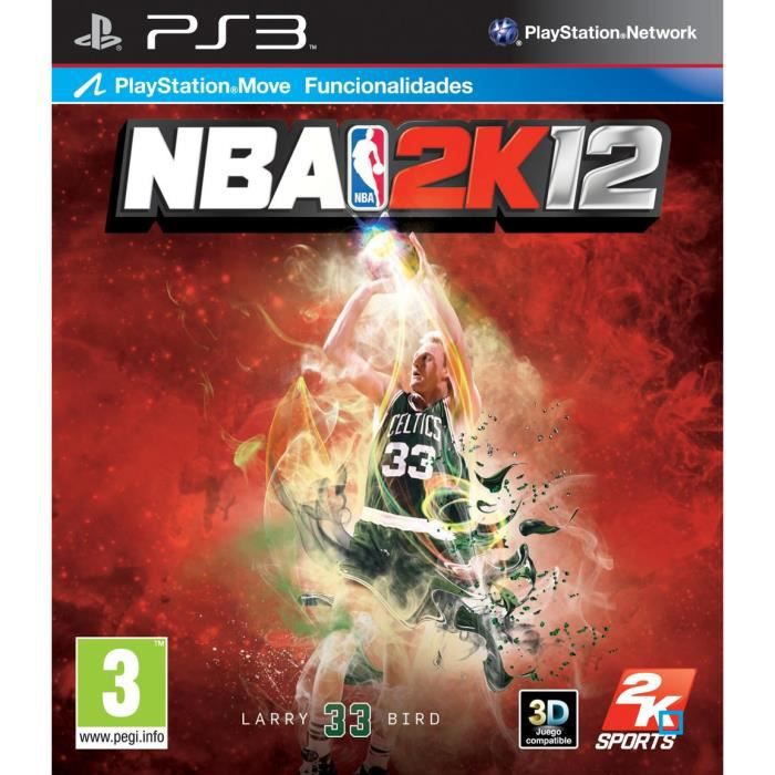 JEU PS3 NBA 2K12 LARRY BIRD / Jeu console PS3