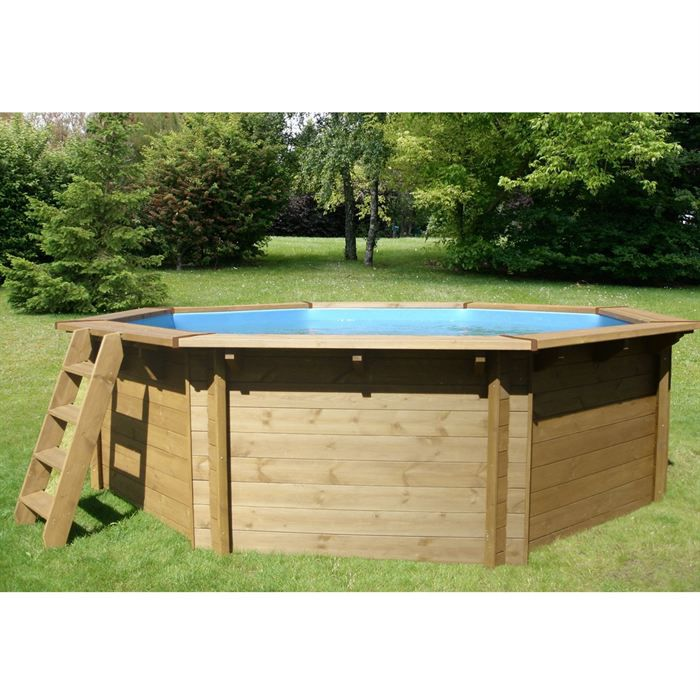 Bluewave piscine eden en bois achat vente kit piscine for Piscine bois destockage
