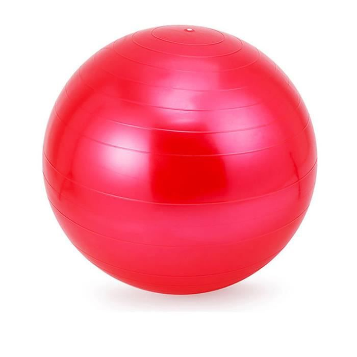 BALLON SUISSE - GYM BALL - SWISS BALL Exercice Gym Yoga Ball Fitness Grossesse Accouchement Anti Burst Core Ball YIN91018001RD_118