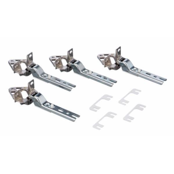 kit de 4 charnières porte refrigerateur congelateur bosch siemens 00268700