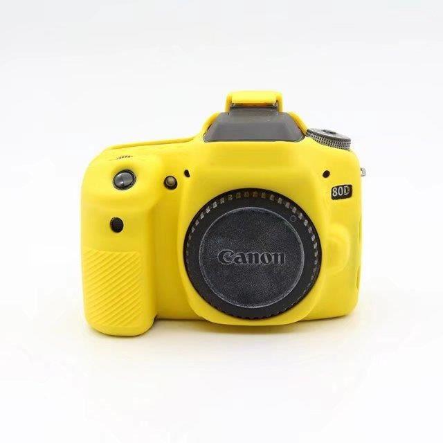 Nouveau sac de caméra en Silicone souple pour Canon 70D appareil photo numérique étui de protection en caoutch*ES5670