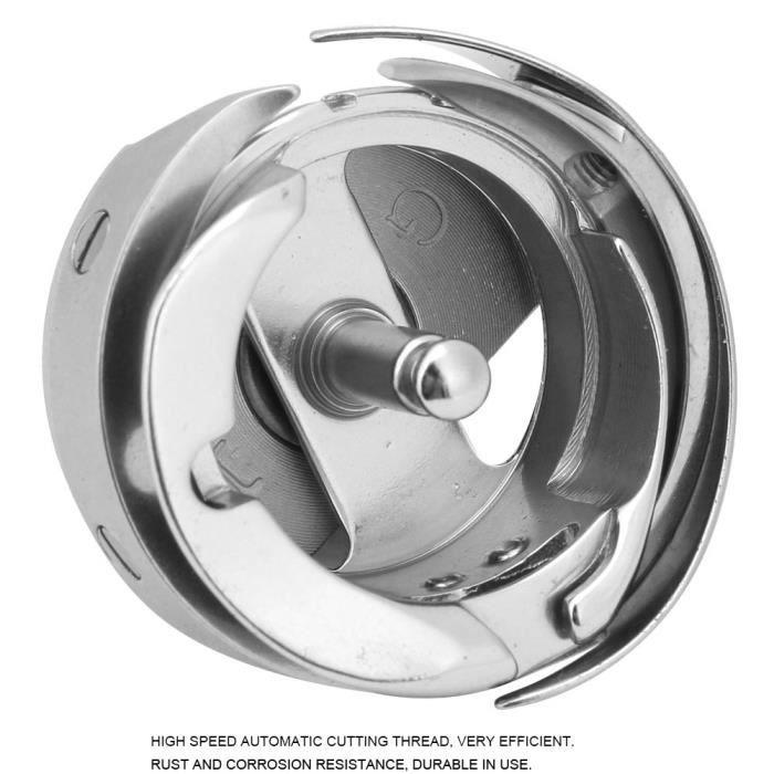Boîte de Canette à Crochet de Couture Accessoires de Machine à Coudre d'ordinateur(7.94BRT)-CHD