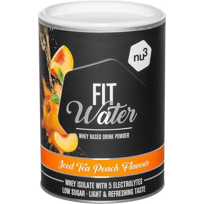 Protein Water 300 g en poudre - Iced Tea Peach - 214 g Iso Whey Protein par boisson