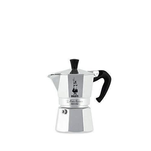 Bialetti 06857 1161 Moka Express Export Espresso Maker Silver -1-Cup