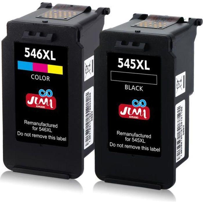 Pack Compatible Canon PG-545XL CL-546XL Cartouches...