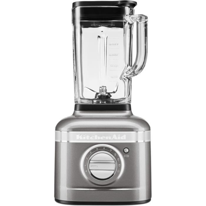 KitchenAid Blender K400 ARTISAN - Gris Étain
