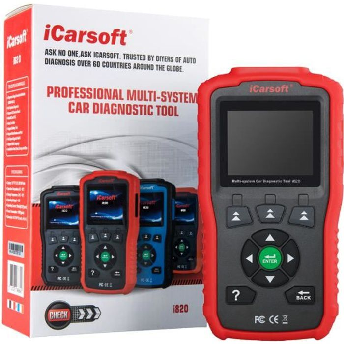Valise Diagnostique Pro Multimarque En Français Obd Obd2 Diagnostic AUTOCOM DELPHI ELM VAG COM LAUNCH iCarsoft i820