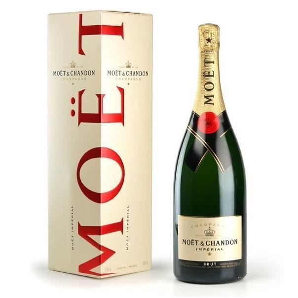 MOET & CHANDON CHAMPAGNE BRUT IMPERIAL RED 75 CL