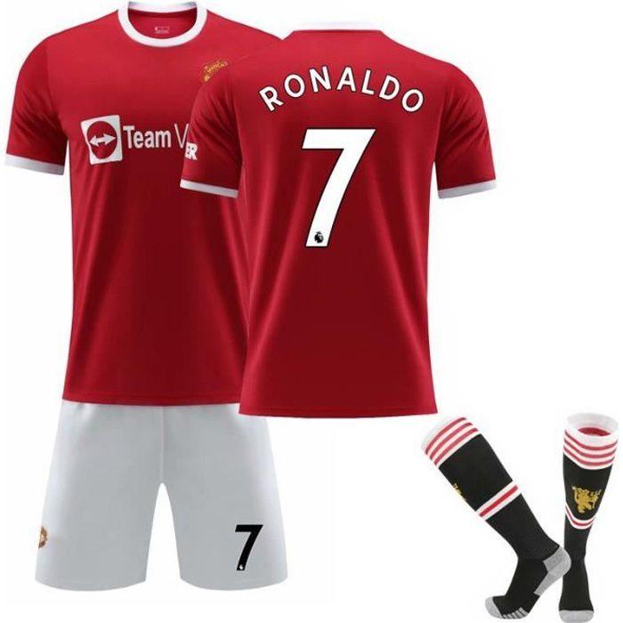 Maillot de football Ronaldo n ° 7 à domicile des Diables rouges de Premier League