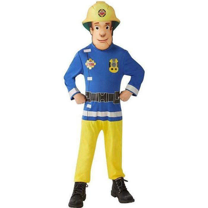 SAM LE POMPIER Déguisement Sam le Pompier + accessoire