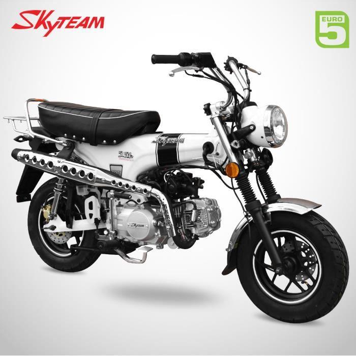 Mini Moto - DAX 125 - Blanc - SKYTEAM