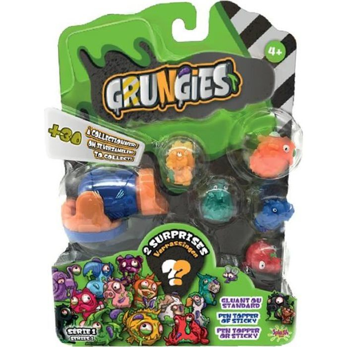 SPLASH-TOYS Petites figurines dégoutantes à collectionner Grungies blind bag