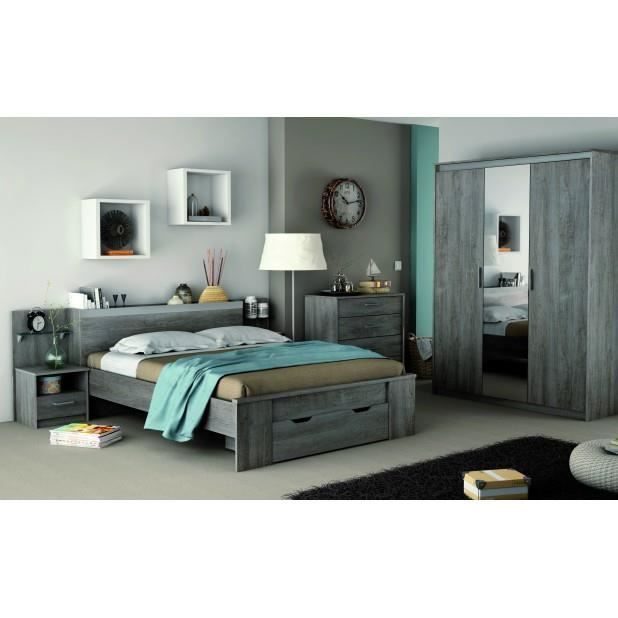chambre adulte complete avec armoire achat vente. Black Bedroom Furniture Sets. Home Design Ideas