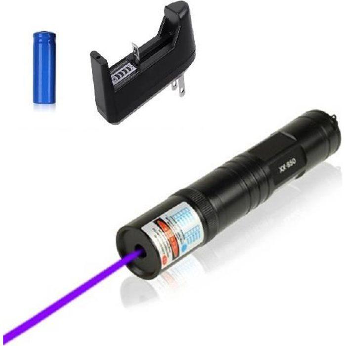 Laser vert ultra puissant brûle allumette Portée 10km+batterie+chargeur+embout..