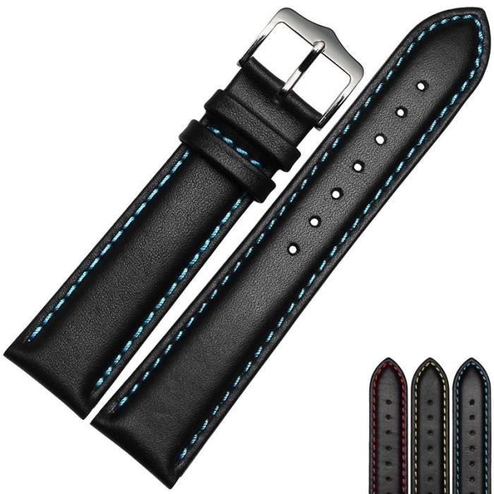 Longines Bracelet cuir Marron  20mm Neuf