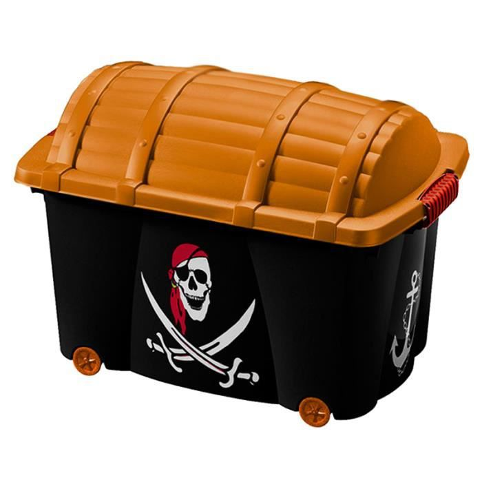 coffre a jouets pirate achat vente coffre a jouets pirate pas cher cdiscount. Black Bedroom Furniture Sets. Home Design Ideas