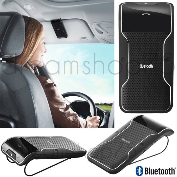 kit mains libres bluetooth voiture road universel pour iphone samsung nokia et sony achat. Black Bedroom Furniture Sets. Home Design Ideas