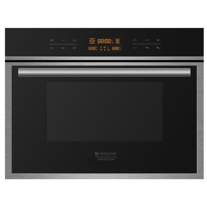 Hotpoint mwk434 1x ha micro ondes combin encastrable for Micro onde encastrable miroir