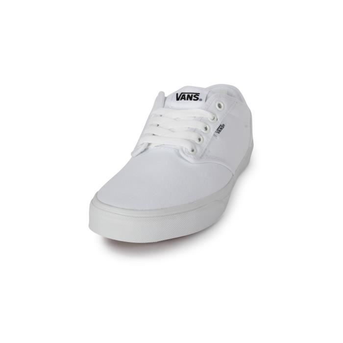 Skate Atwood Toile Blanche Blanc - Cdiscount Chaussures