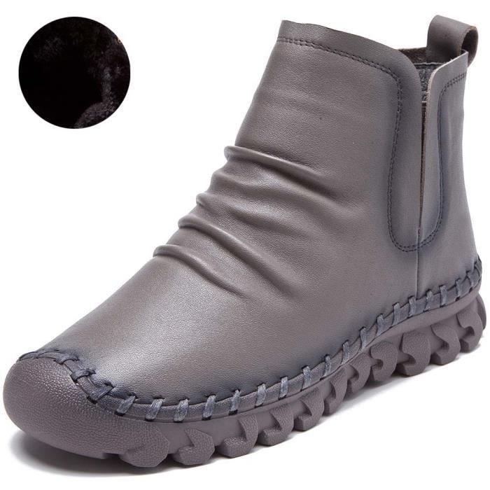 Martin Main Chaussures Femme Fait Cuir Bottes Bottines Femme R3A54Lqj