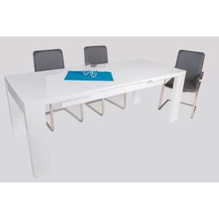 Table de salle manger valens coloris blanc h achat vente table a ma - Table and co vente en ligne ...