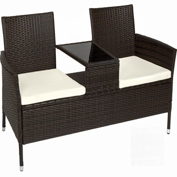 salon de jardin banc de jardin canap de jardin en. Black Bedroom Furniture Sets. Home Design Ideas