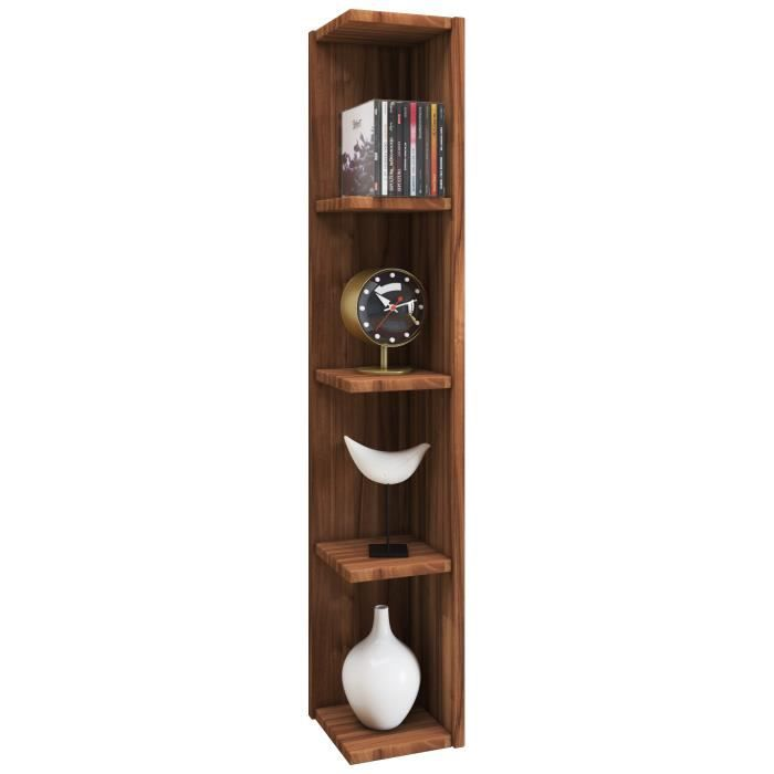 etagere d angle bois achat vente pas cher. Black Bedroom Furniture Sets. Home Design Ideas
