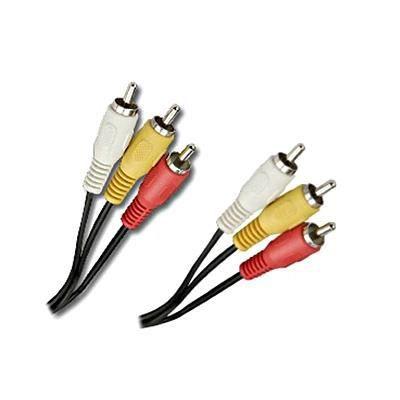 Connectland 0106041 10 m Cable de Audio RCA