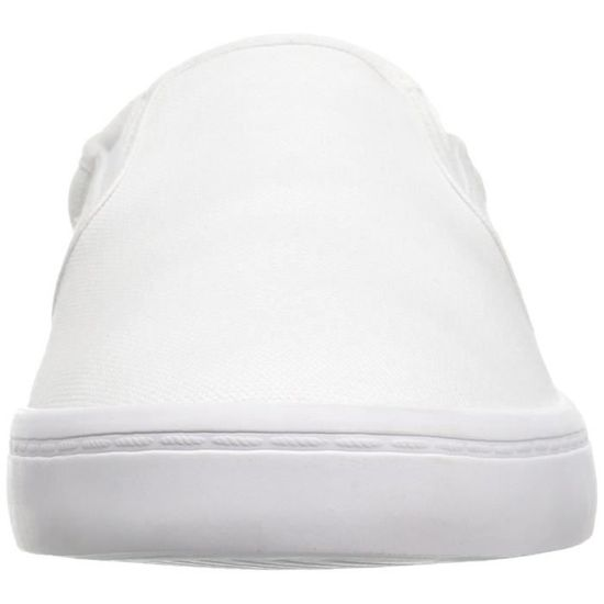 huge discount 99a83 40915 Lacoste Sneaker gazon CCEW3 Taille-40 Blanc Blanc - Achat   Vente slip-on -  Cdiscount