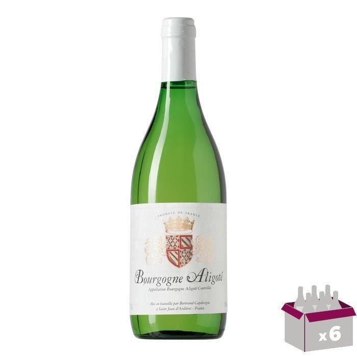 Bourgogne Aligoté - Blanc - 75 cl x6